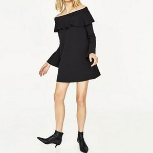 BNWT Zara Black Dress M